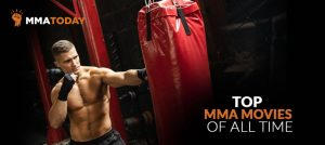 MMA man working out.