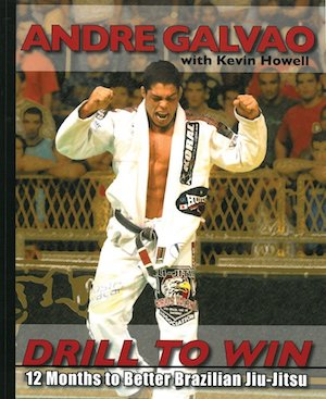 Andre Galvao's Drill to Win book cover.